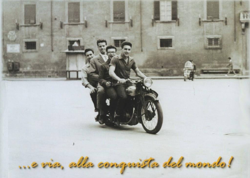 Mario Dall'Aglio, Giorgio Bellettini, Italo Mannelli e Vittorio Silvestrini
