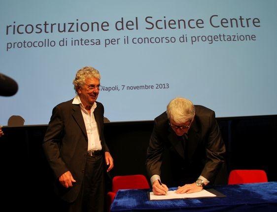 Silvestrini Fondazione Inarcassa concorso progettazione science centre