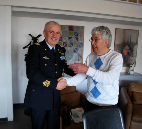 Silvestrini Generale Umberto Baldi Comandante Accademia Aeronautica