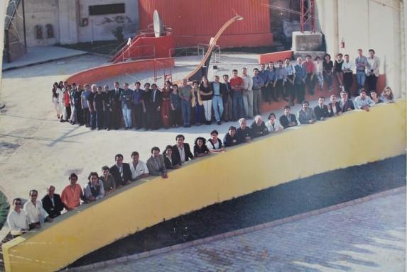 Silvestrini gruppo piazza a mare prima restauro definitivo