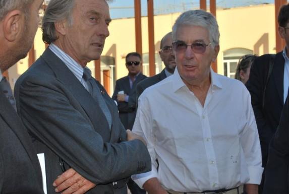 Silvestrini Luca Cordero di Montezemolo conferenza stampa Telethon