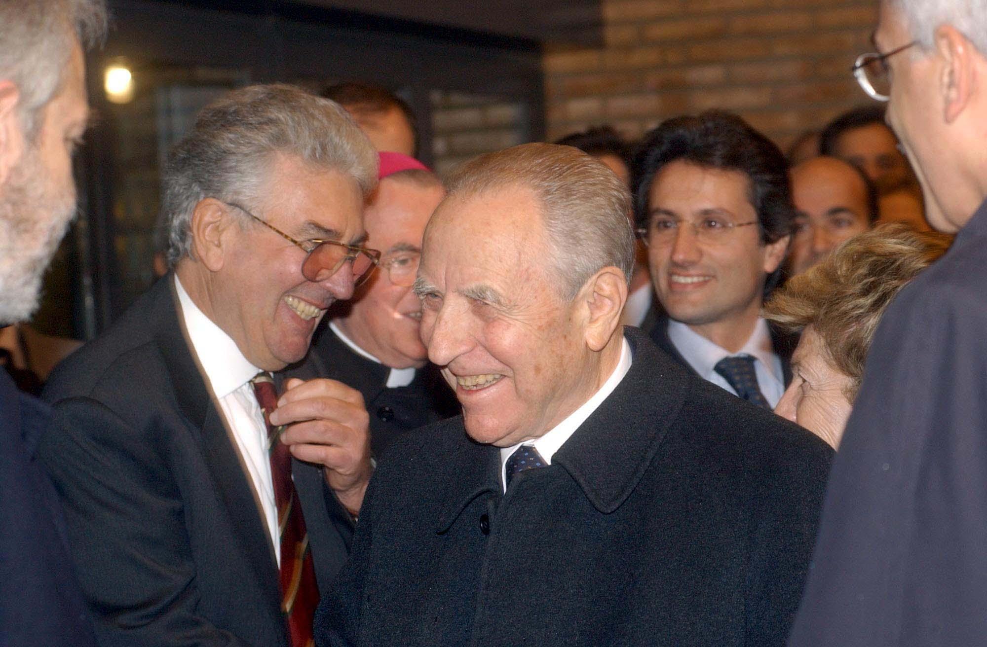Silvestrini Presidente Carlo Azeglio Ciampi inaugurazione Science Centre