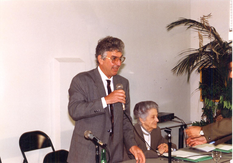 Silvestrini Rita Levi Montalcini inaugurazione Spazio Idis